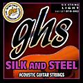 GHS 345 Silk and Steel Acoustic Guitar Strings Light