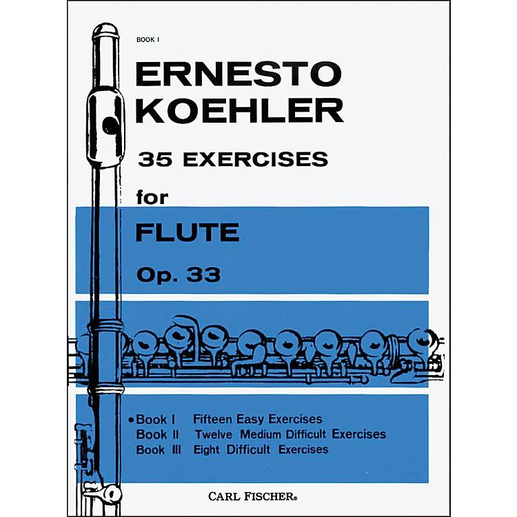 Carl Fischer35 Exercises For Flute, Op. 33