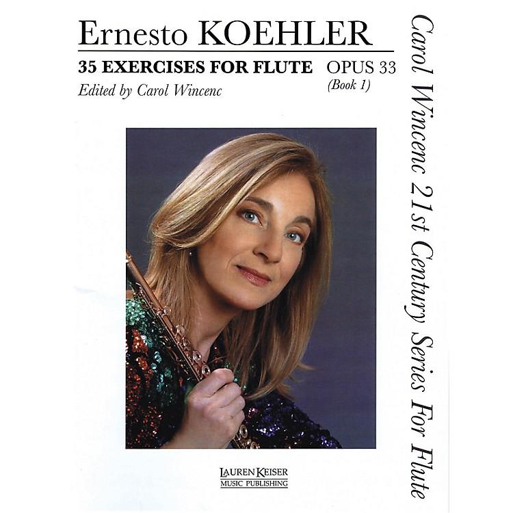 Lauren Keiser Music Publishing35 Exercises for Flute, Op. 33 (Carol Wincenc 21st Century Series for Flute - Book 1) LKM Music Series