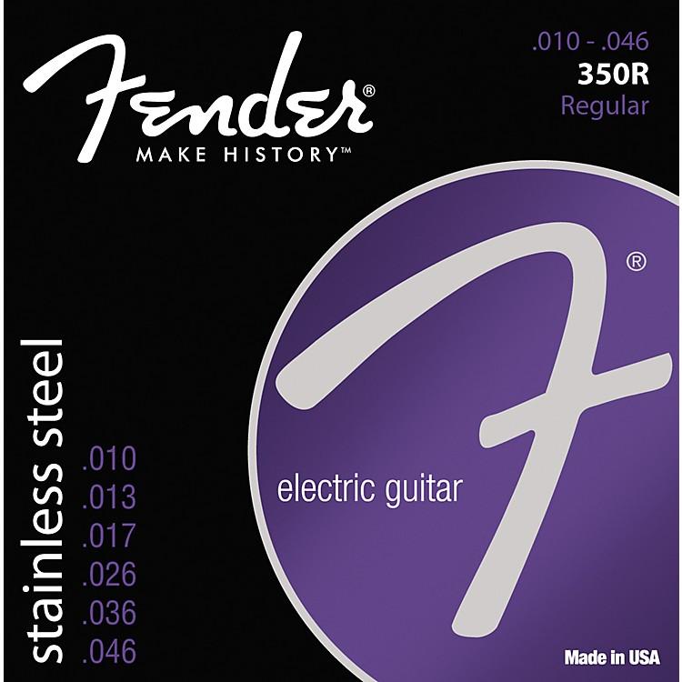 Fender350R Stainless Steel Electric Guitar Strings