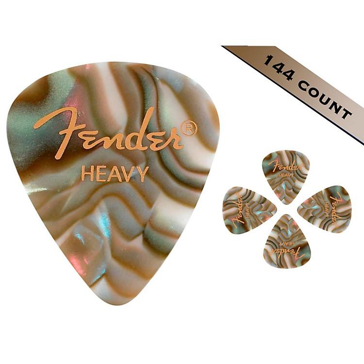 Fender351 Premium Heavy Guitar Picks - 144 CountAbalone Moto