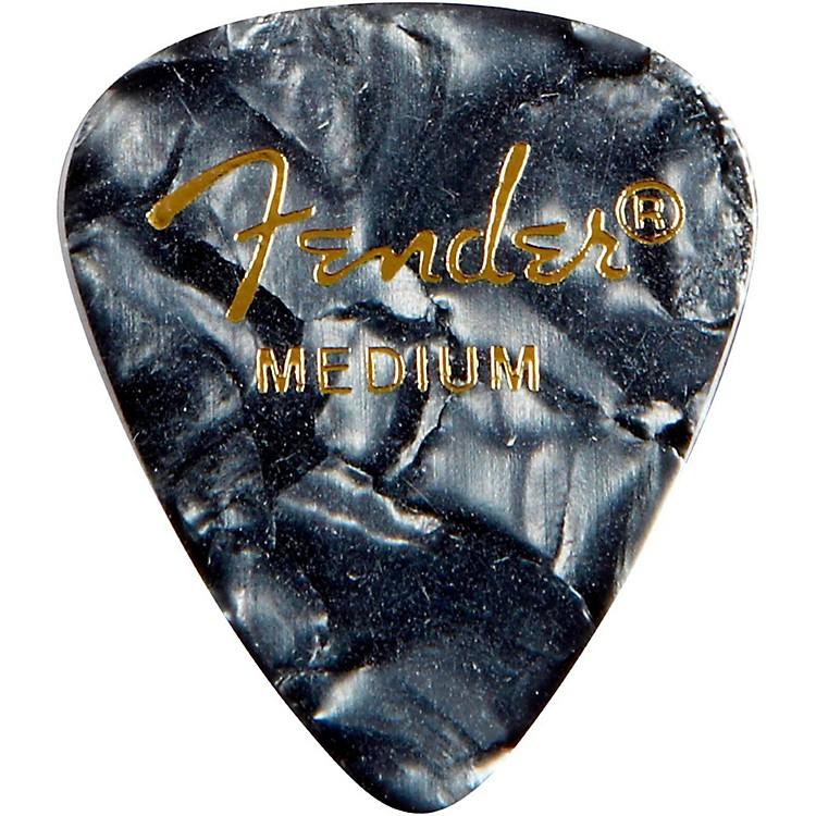 Fender351 Premium Medium Guitar Picks - 144 CountBlack Moto