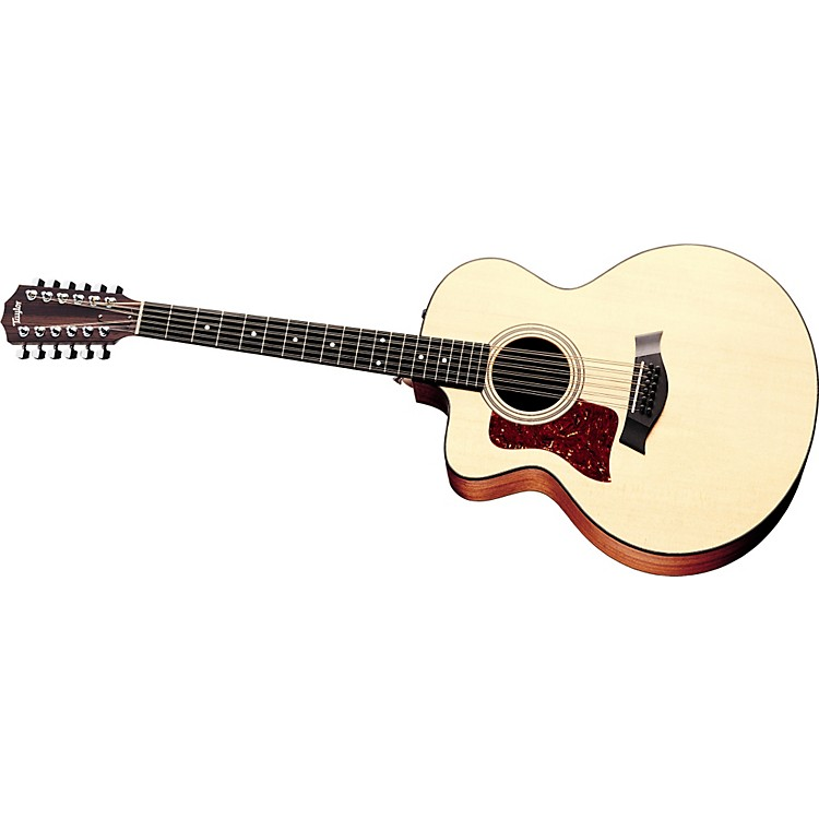 Taylor355-CE Left-Handed 12-String Jumbo Acoustic-Electric Guitar