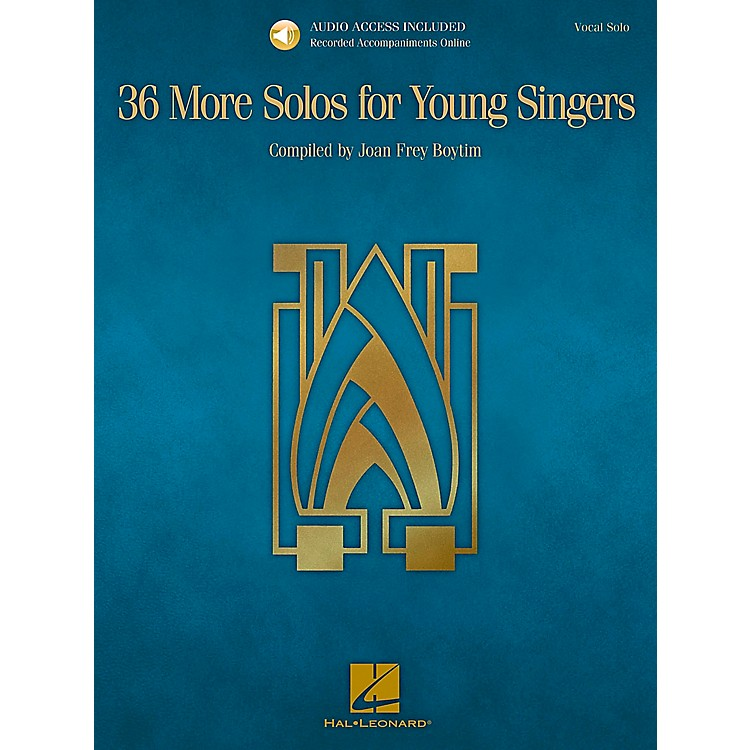 Hal Leonard36 More Solos For Young Singers - Book/CD