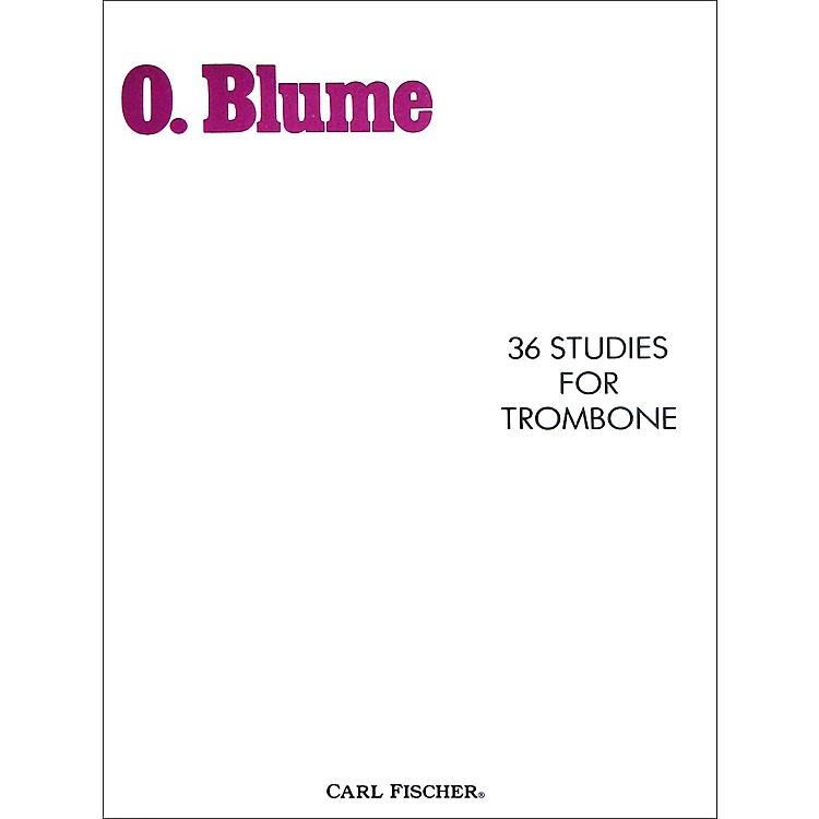 Carl Fischer36 Studies for Trombone