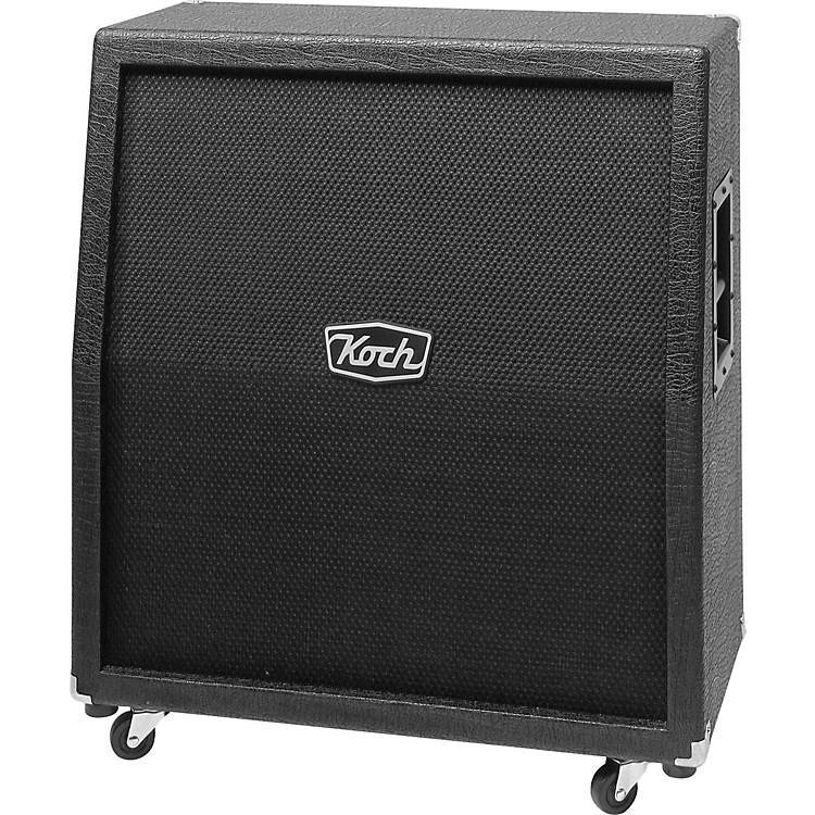 Koch360W 4x12 Guitar Extension CabinetBlack, BlackStraight