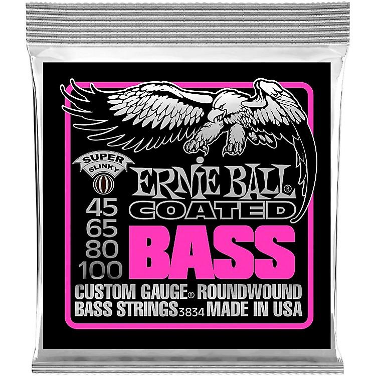 Ernie Ball3834 Coated Bass Strings - Super Slinky