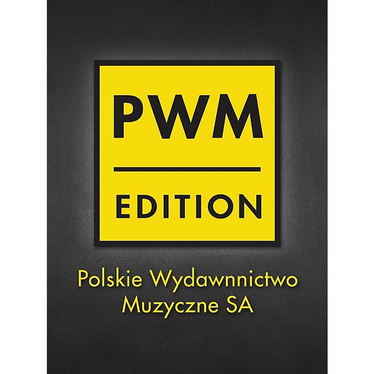 PWM4 Caprici Per Viola Solo PWM Series Softcover Composed by Grazyna Bacewicz
