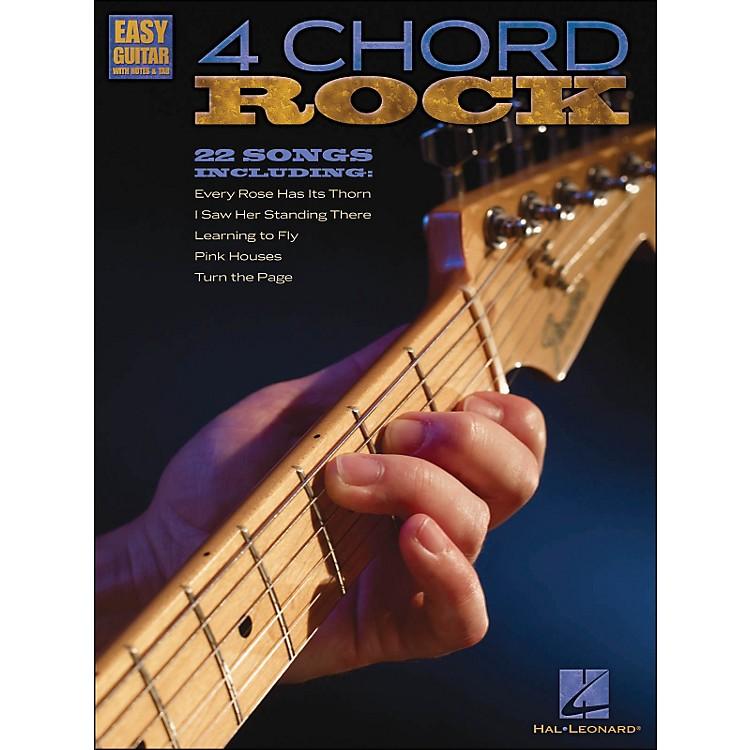 Hal Leonard4 Chord Rock - Easy Guitar with Tab