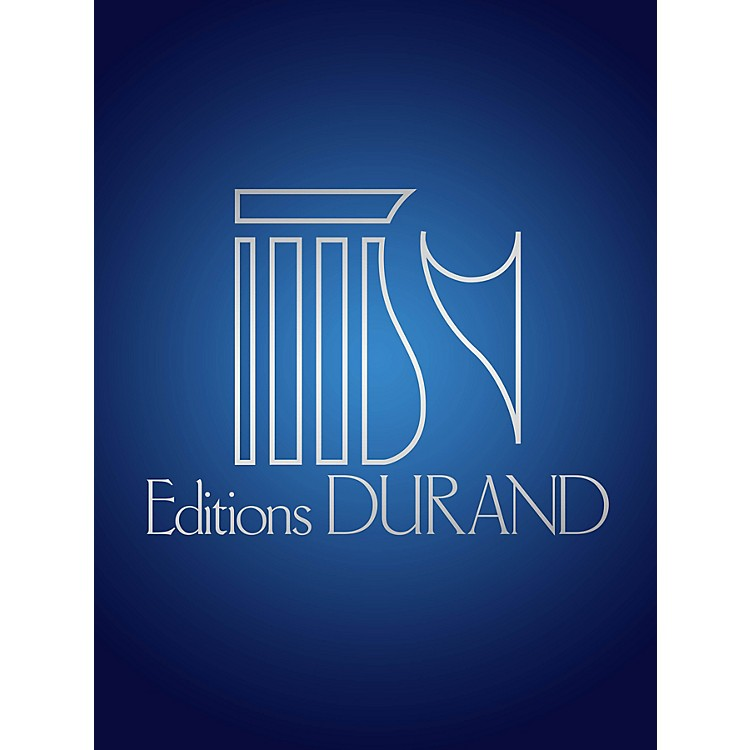Editions Durand 4 Mélodies (Voice and Piano) Editions Durand Series Composed by Jacques Leguerney