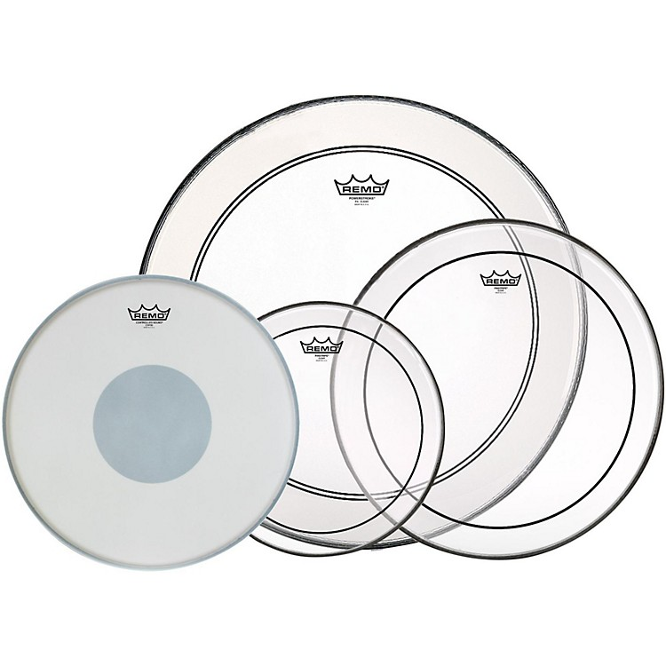 Remo4-Piece Drumhead Pack