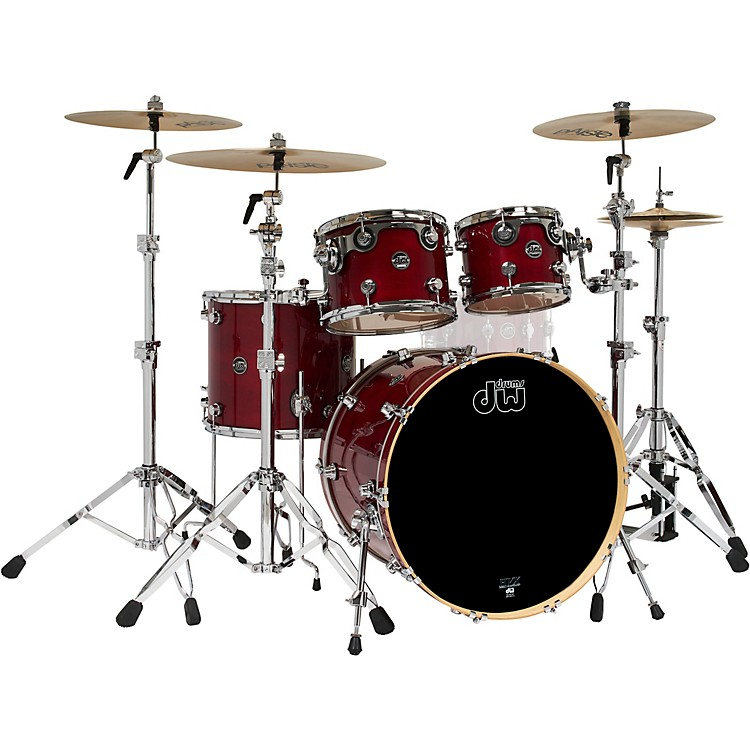 DW4-Piece Performance Series Shell PackCherry Stain Lacquer