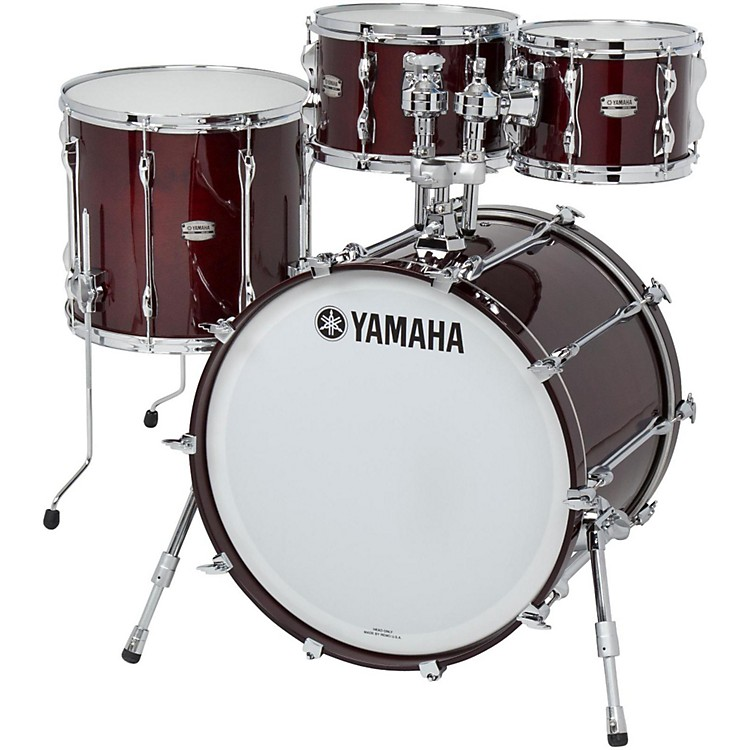 Yamaha 4-Piece Recording Custom Shell Pack Real Wood