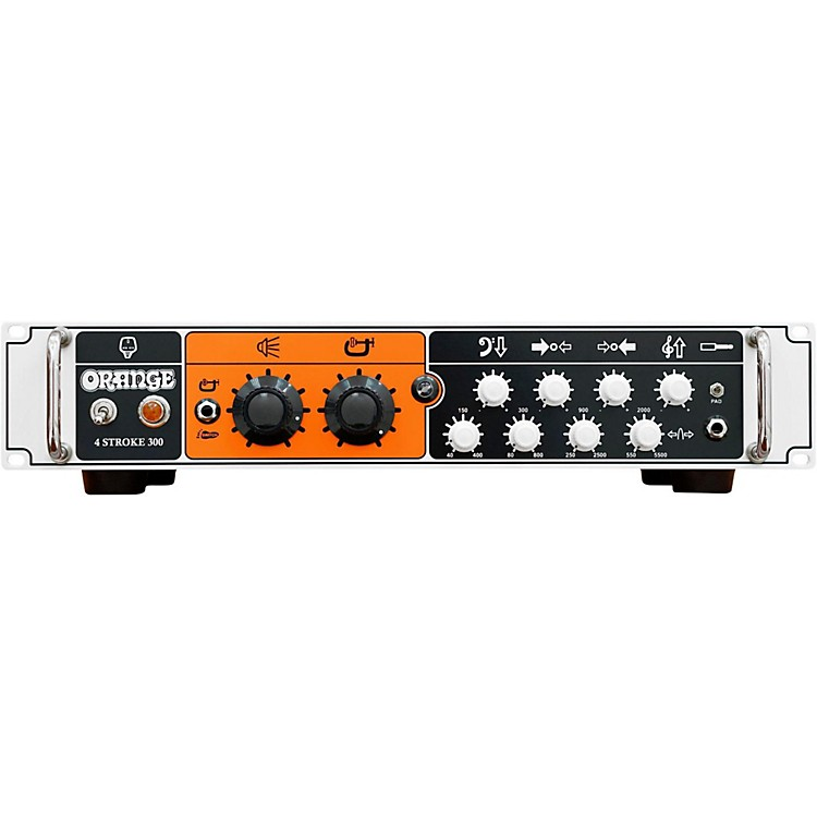 Orange Amplifiers4-stroke 300W Bass Amp HeadWhite
