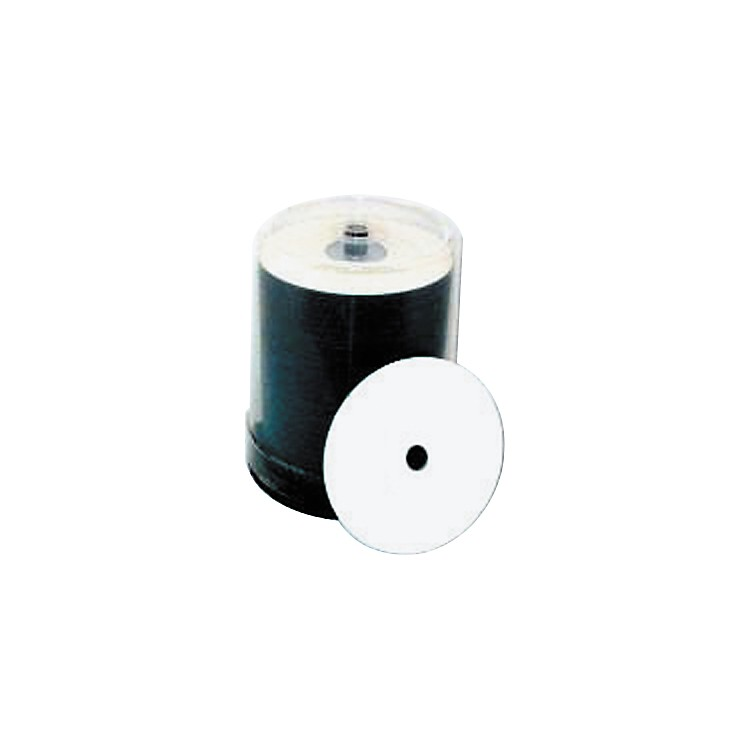 Taiyo Yuden 4.7GB DVD+R, 16X, White Inkjet-Printable and Hub Printable, 100 Disc Spindle