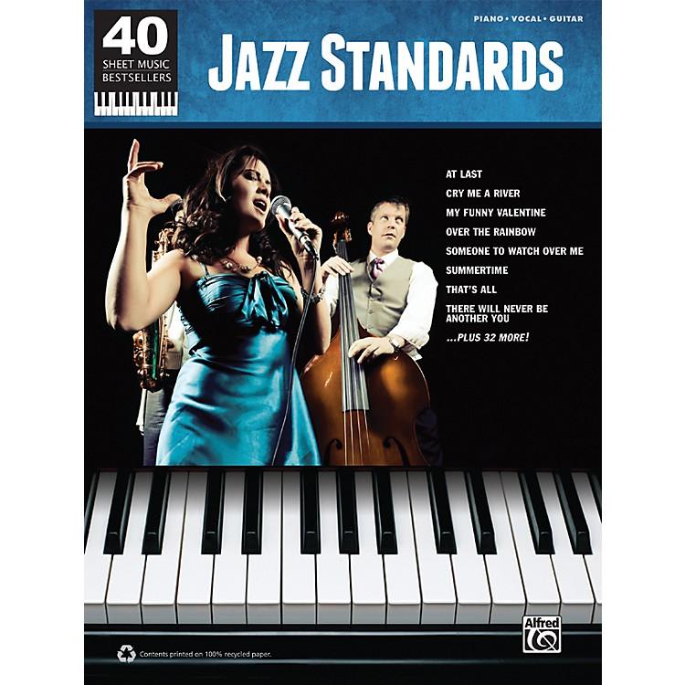 Alfred40 Sheet Music Bestsellers: Jazz Standards Book