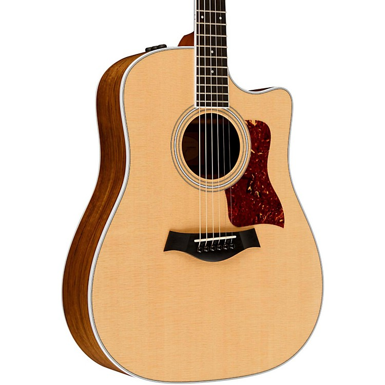 Taylor400 Series 410ce Dreadnought Acoustic-Electric GuitarNatural