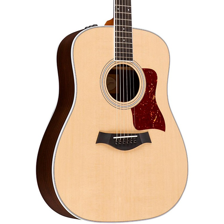 Taylor400 Series 410e-R Rosewood Dreadnought Acoustic-Electric GuitarNatural