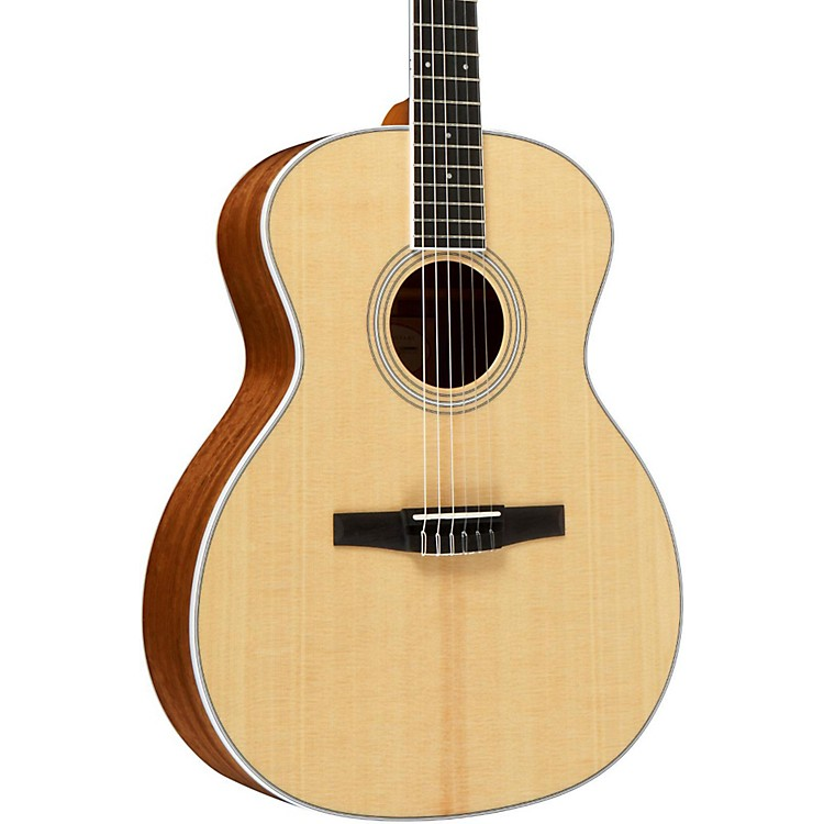Taylor 400 Series 414-N Grand Auditorium Nylon String Acoustic Guitar Natural