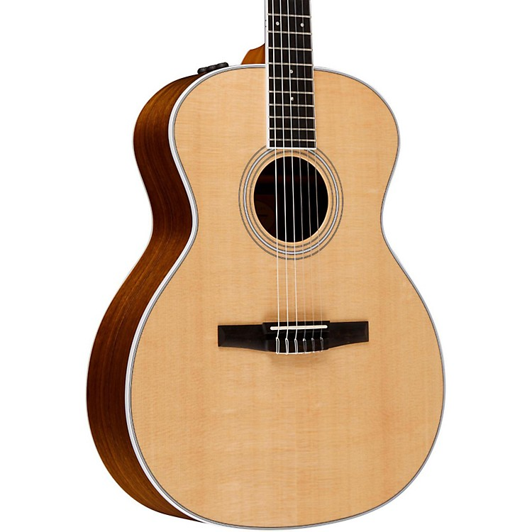 Taylor400 Series 414e-N Grand Auditorium Nylon String Acoustic-Electric GuitarNatural