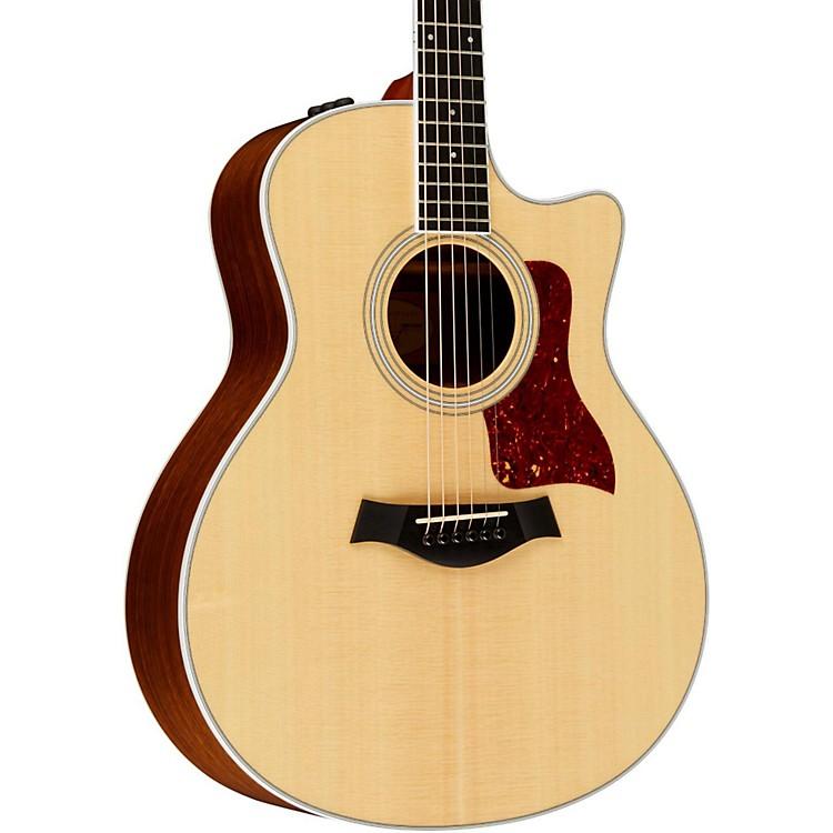 Taylor400 Series 416ce Grand Symphony Cutaway Acoustic-Electric GuitarNatural