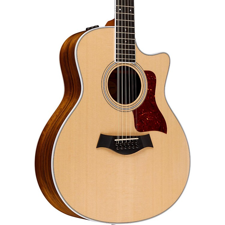 Taylor400 Series 456ce Grand Auditorium 12-String Acoustic-Electric GuitarNatural