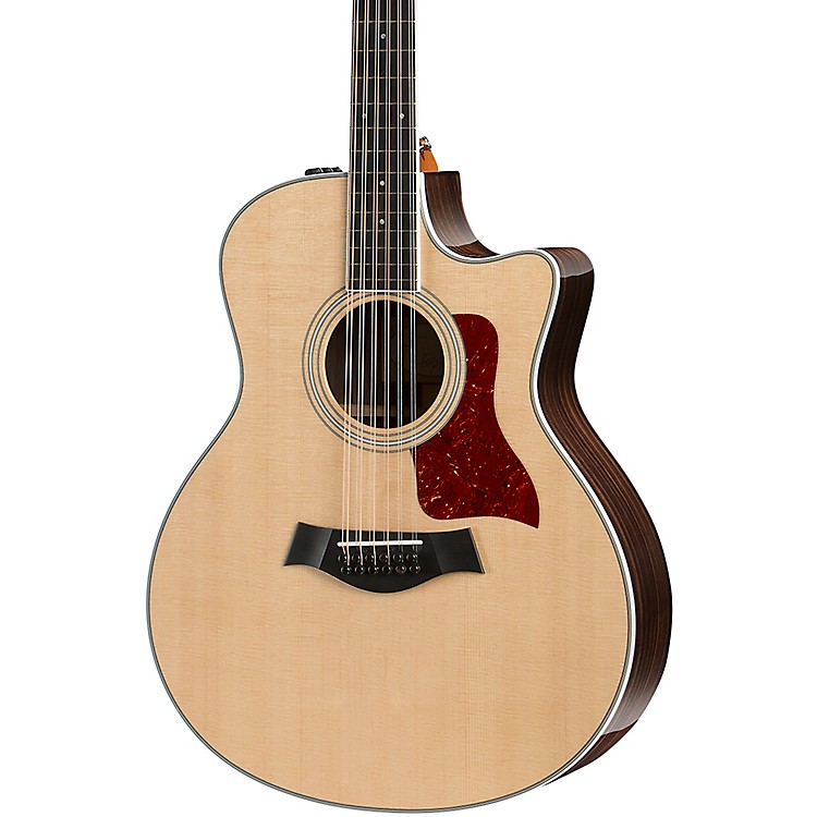 Taylor400 Series 456ce-R Grand Symphony 12-String Acoustic-Electric GuitarNatural