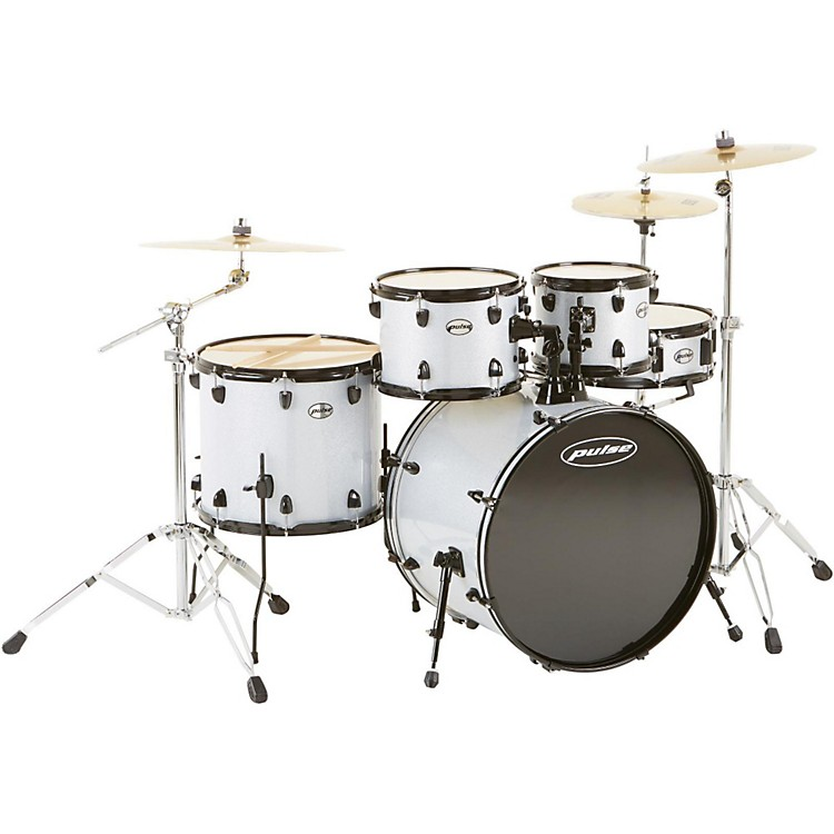 Pulse 4000 Series 5-Piece Shell Pack Silver Sparkle
