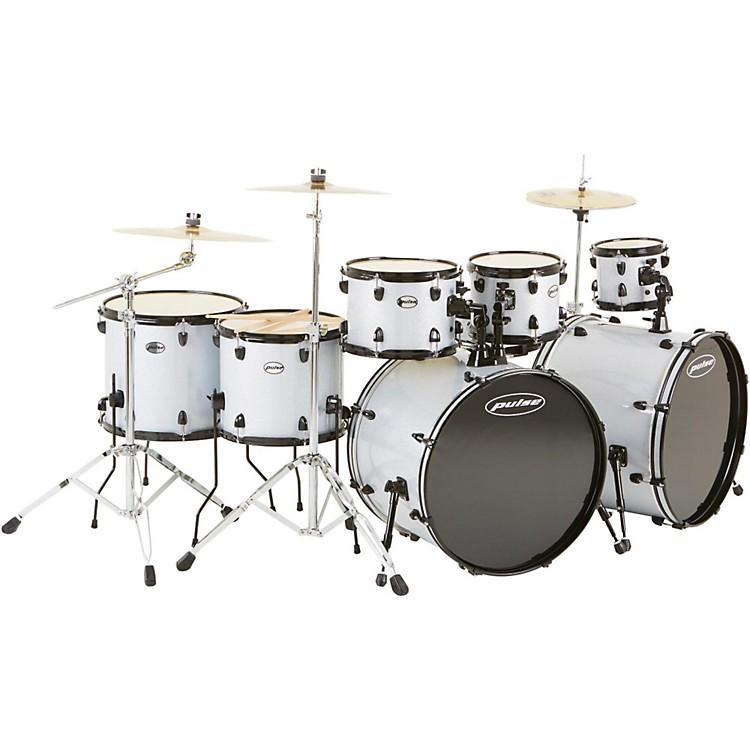 Pulse4000 Series 8-Piece Double Bass Drum Shell PackSilver Sparkle