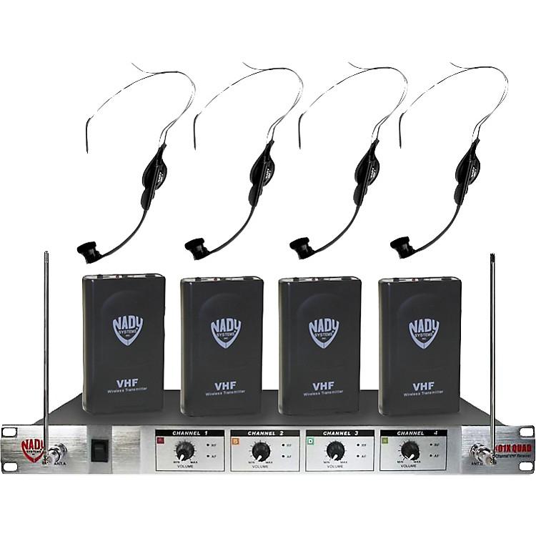 Nady401X Quad HM-1 Headset Wireless System