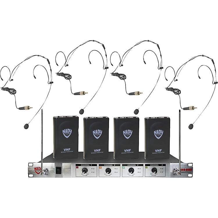 Nady401X Quad HM-10 Headset Wireless System