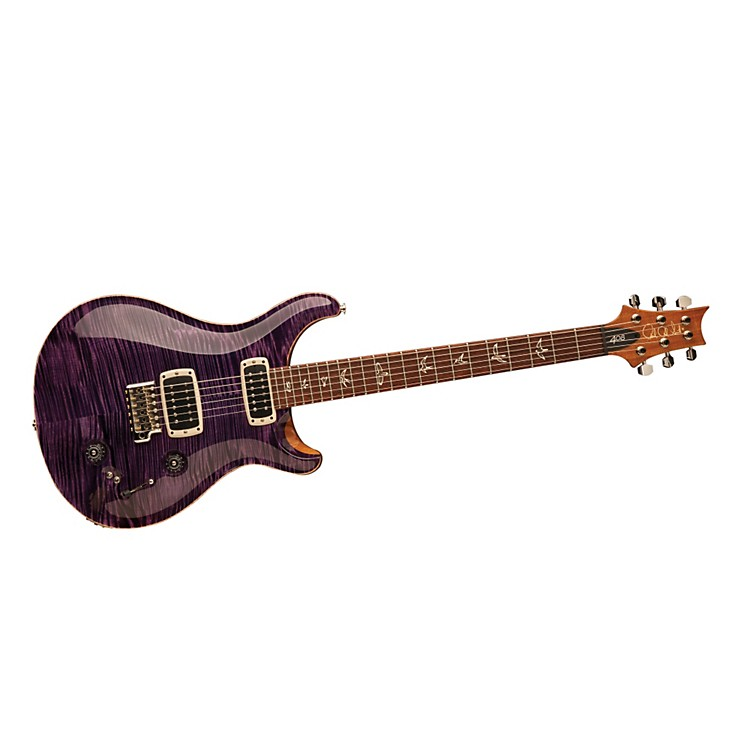 PRS 408 Flame Top with Pattern Thin Neck Electric Guitar