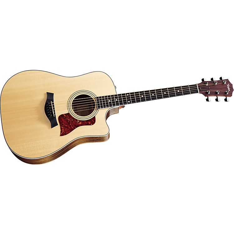 Taylor 410-CE Dreadnought Cutaway Acoustic-Electric Guitar (2011 Model) Natural