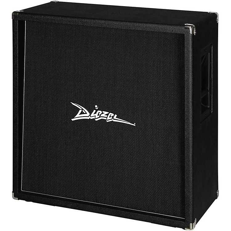Diezel 412RV 280W 4x12 Rear Loaded Guitar Amplifier Cabinet Black