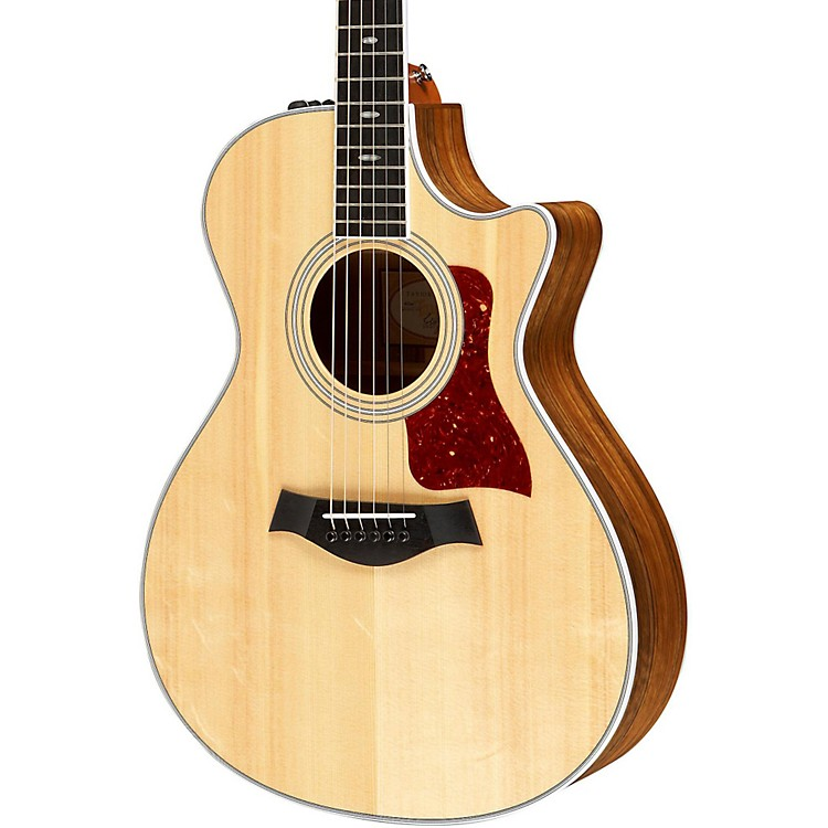Taylor412ce Ovangkol/Spruce Grand Concert Acoustic-Electric Guitar