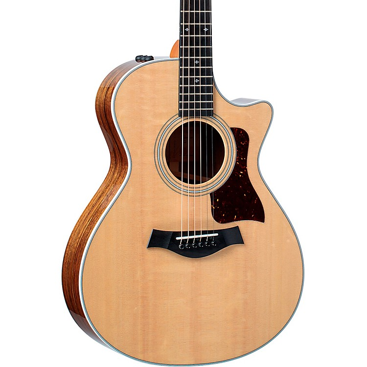 Taylor412ce V-Class Grand Concert Acoustic-Electric GuitarNatural