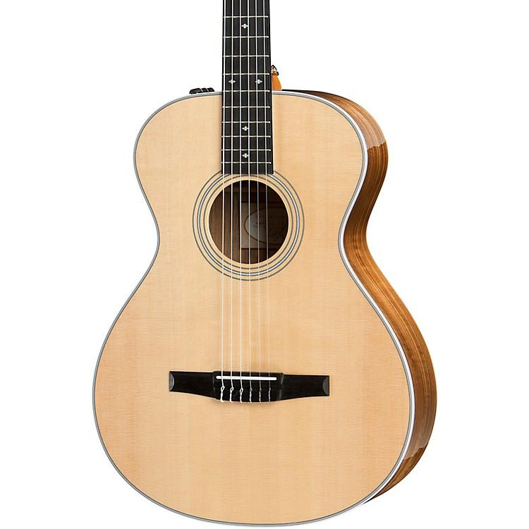 Taylor412e-N Grand Concert Nylon String Acoustic-Electric GuitarNatural