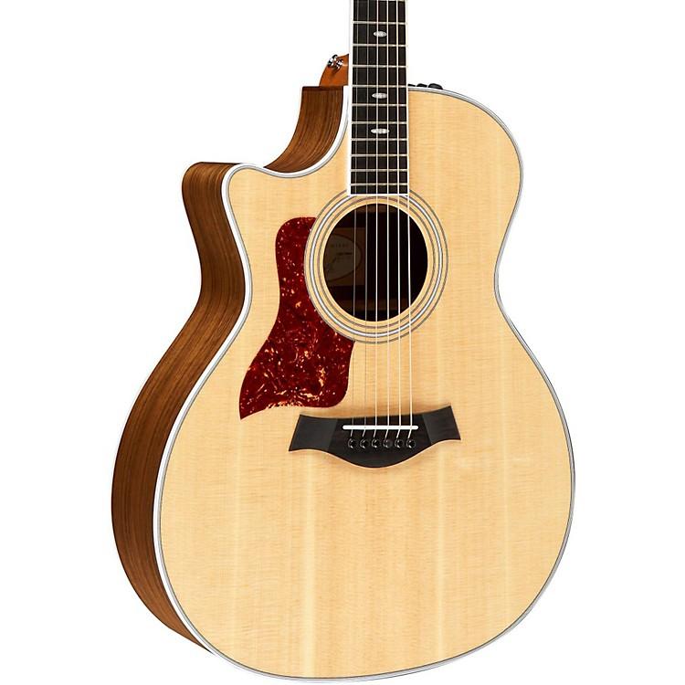 Taylor414ce-L Ovangkol/Spruce Grand Auditorium Left-Handed Acoustic-Electric Guitar