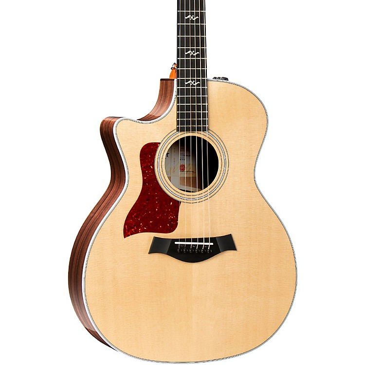 Taylor414ce-R-LH V-Class Grand Auditorium Left-Handed Acoustic-Electric GuitarNatural
