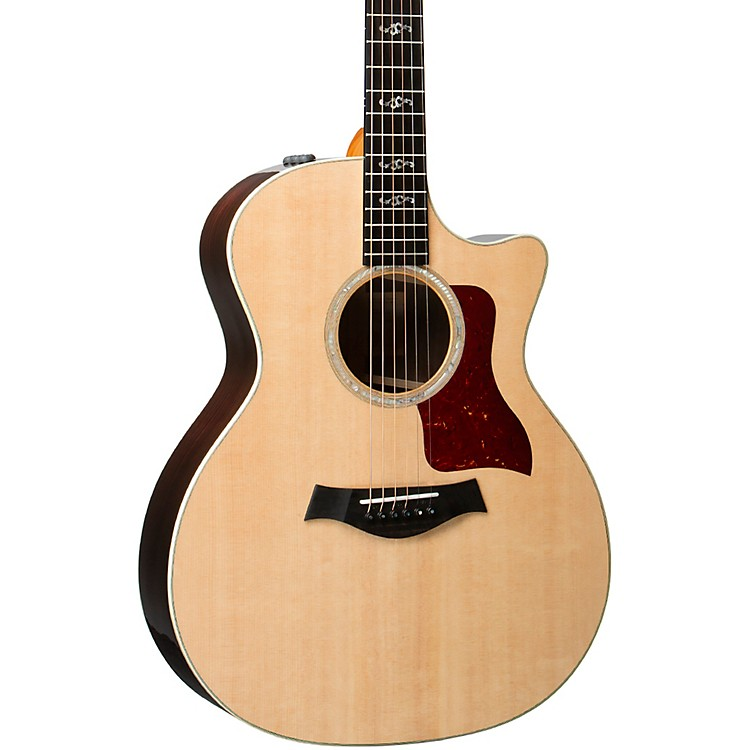 Taylor414ce V-Class Special Edition Grand Auditorium Acoustic-Electric GuitarNatural