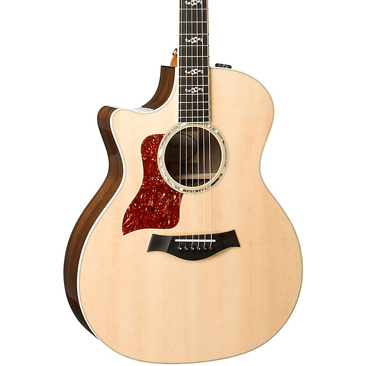 Taylor414ce V-Class Special Edition Grand Auditorium Left-Handed Acoustic-Electric GuitarNatural
