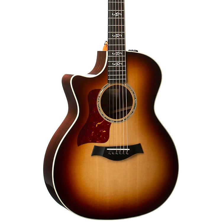Taylor414ce V-Class Special Edition Grand Auditorium Left-Handed Acoustic-Electric GuitarShaded Edge Burst