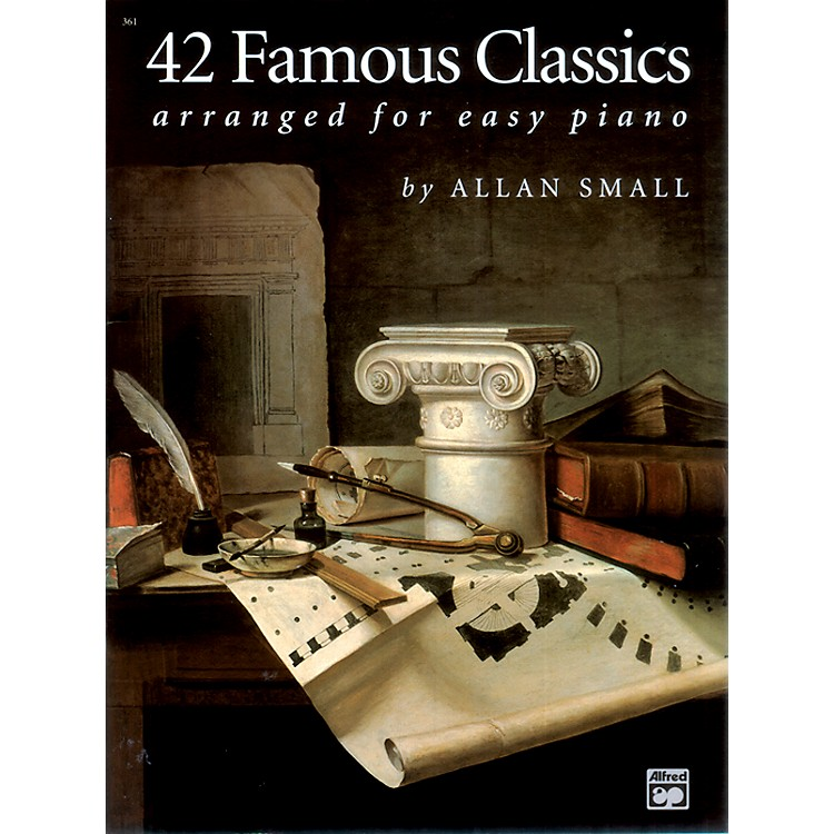 Alfred42 Famous Classics for Easy Piano