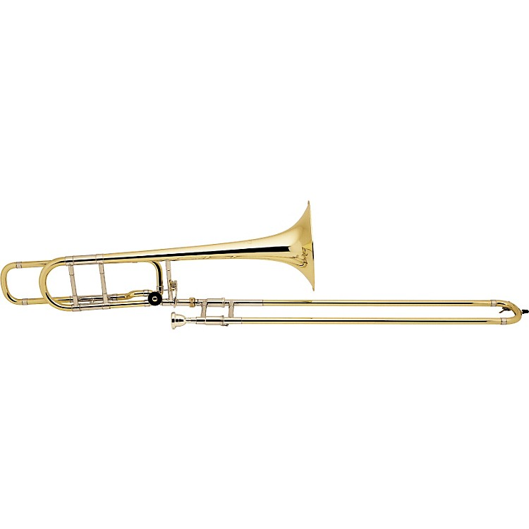 Bach 42BO Stradivarius Series F-Attachment Trombone Lacquer Yellow Brass Bell Lightweight Slide
