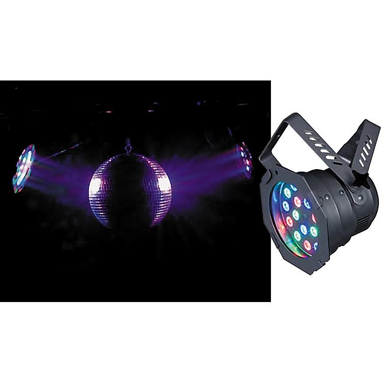 American DJ46HP LED Pro PAR Can LightBlack