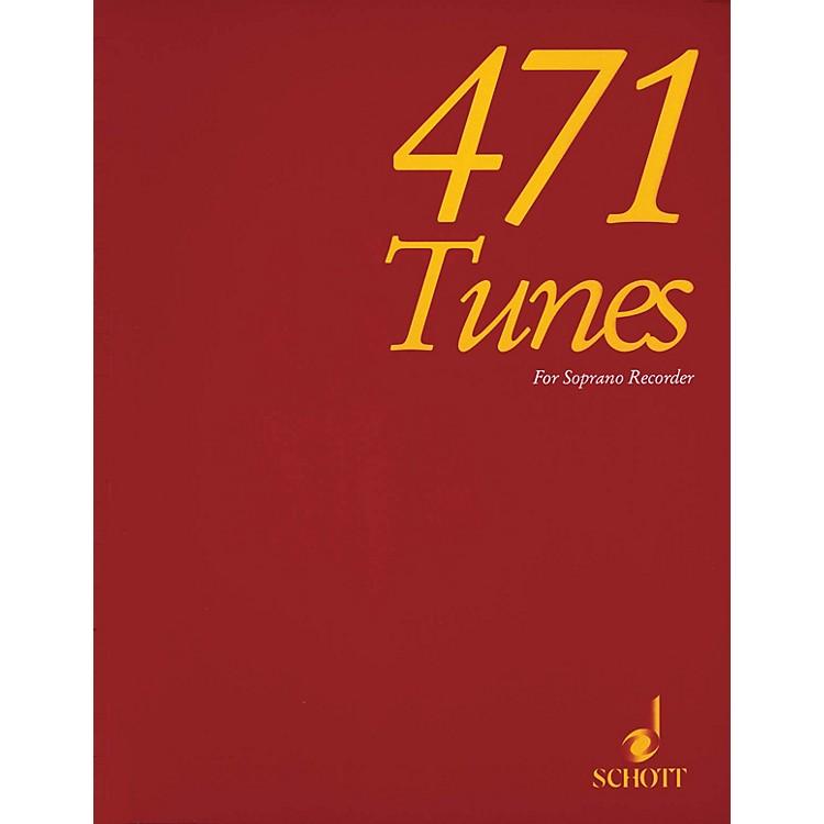 Schott471 Tunes for Soprano Recorder Schott Series