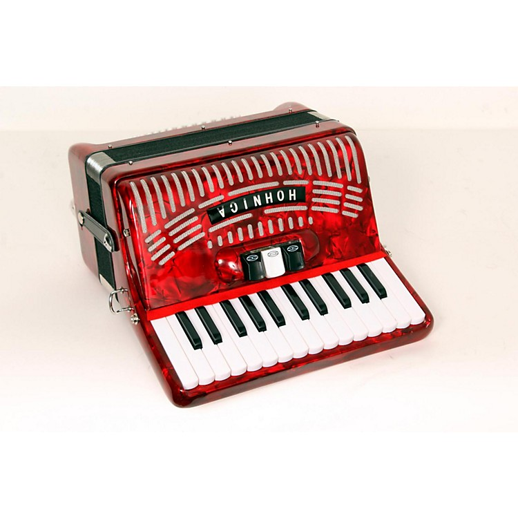 Hohner48 Bass Entry Level Piano AccordionRed888365685373