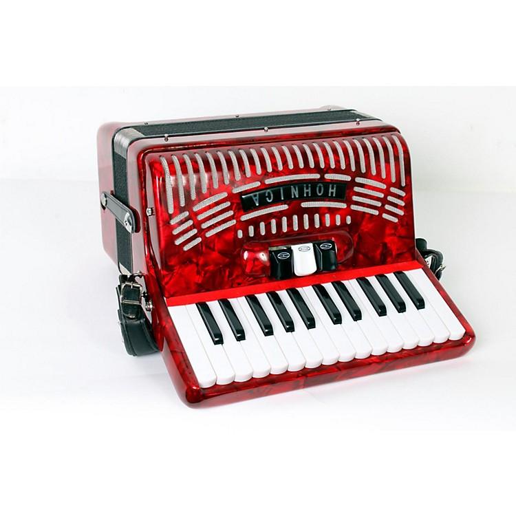 Hohner48 Bass Entry Level Piano AccordionRed888365775265