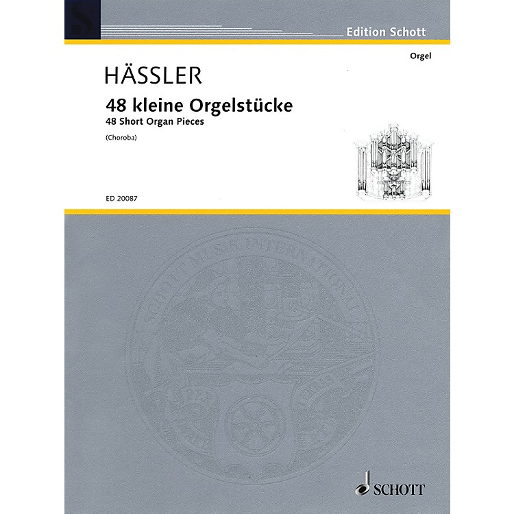 Schott48 Short Organ Pieces Organ Collection Series