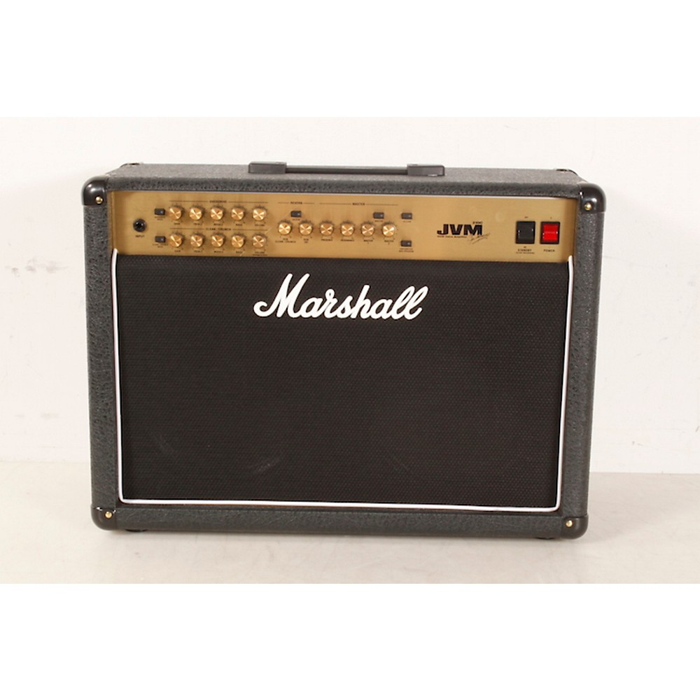 marshall jvm series jvm210c 100w 2x12 tube guitar combo amp black ebay. Black Bedroom Furniture Sets. Home Design Ideas